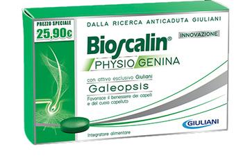 BIOSCALIN PHYSIOGENINA 30 CAPSULE PREZZO SPECIALE - Farmabravo.it