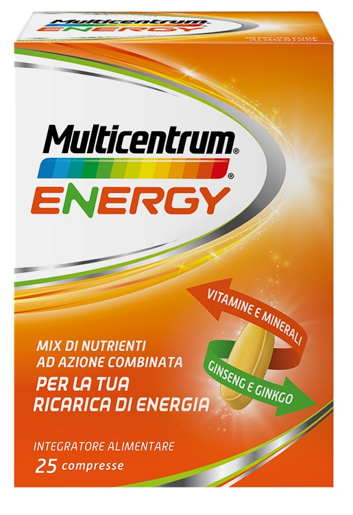 MULTICENTRUM MC ENERGY 25 CAPSULE - Farmapc.it