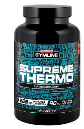 GYMLINE SUPREME THERMO 120 CAPSULE - Farmacia 33