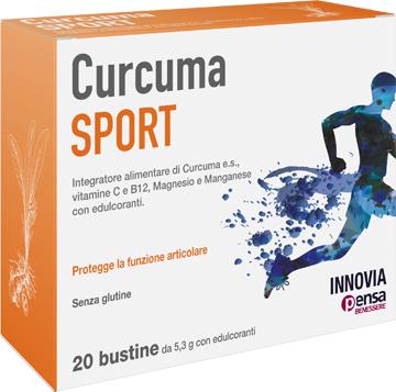 CURCUMA SPORT 20 BUSTINE - FARMAEMPORIO