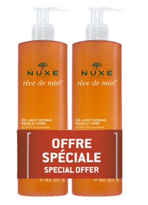NUXE DUO GEL LAVANT SURGRAS VISAGE & CORPS 2 X 400 ML - Farmastar.it