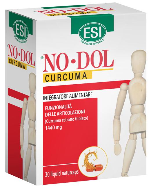 NODOL CURCUMA 30 NATURCAPS LIQUID - FARMAEMPORIO