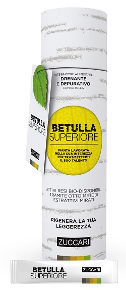 ZUCCARI BETULLA SUPERIORE DRENANTE 25 STICK PACK 10 ML - Farmastar.it