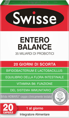 SWISSE ULTIBOOST ENTERO BALANCE 20 CAPSULE - Farmaciasconti.it