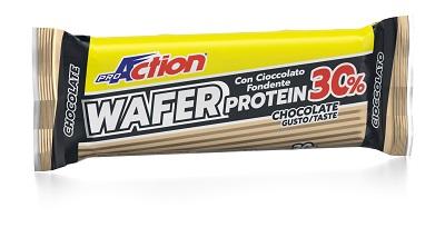 PROACTION PROTEIN WAFER CHOCOLATE 40 G - FARMAEMPORIO