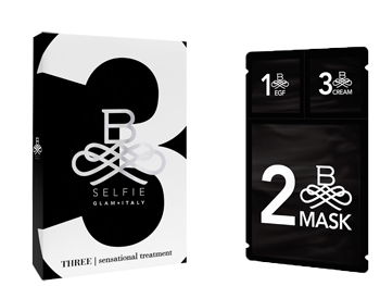 B SELFIE THREE SENSATIONAL TREATMENT MASCHERA 25 ML + SIERO 3 ML + CREMA 3 ML - Farmastar.it
