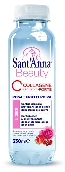 SANT'ANNA BEAUTY AL COLLAGENE + ZINCO 330 ML FRUTTI ROSSI E ROSA CANINA - La tua farmacia online