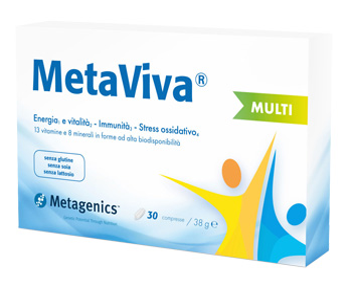 METAVIVA MULTI 30 COMPRESSE - Farmacia 33